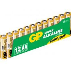 LR06 ALCALINES PACK DE 12 PILES