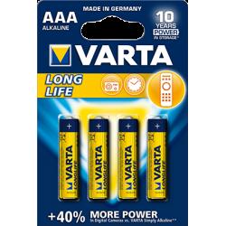 VARTA Piles AAA - LR03 Alcalines