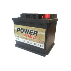 Power Planet N°8 12V 50Ah 400CCA