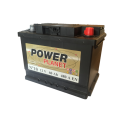Power Planet N°10 12V 60Ah 480CCA