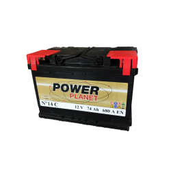 Power Planet N°14 12V 74Ah 680CCA