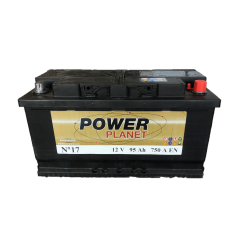 Power Planet N°17 12V 95Ah 750CCA