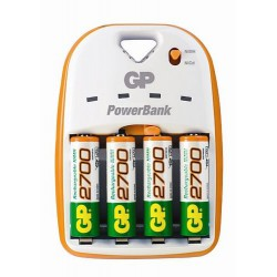 CHARGEUR SMART2 1 HEURE 4 ACCUS 2700 mAh LR06 / AA
