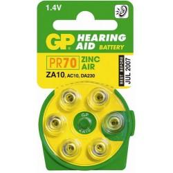 Piles appareils auditifs ZA 10