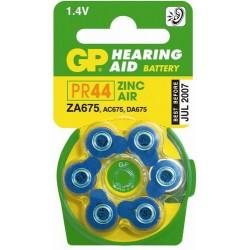 Piles appareils auditifs ZA 675